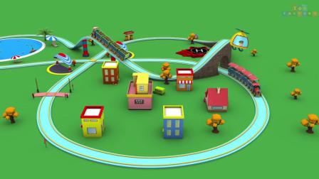 儿童卡通火车玩具厂卡通
