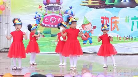幼儿园舞蹈《清早听见公鸡叫》【六一儿童节】
