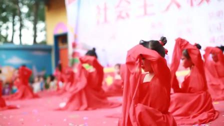幼儿园舞蹈《九儿》,小宝贝第一次登台,希望得到大家鼓励