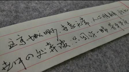 钢笔字日常练字,没事你也可以这样随心所欲的写写!