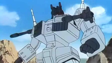 变形金刚:忍者参谋六面兽居然敢正面叫板猛大帅!到底哪来的勇气?