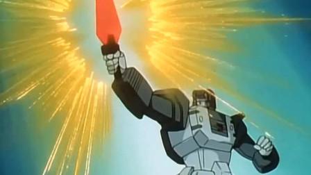 变形金刚:巨无霸福特的唯一弱点,就在拔剑变身的那一瞬间!