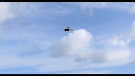 直升机模拟器飞行练习