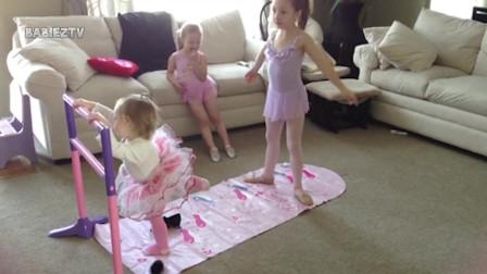 最可爱的孩子芭蕾舞失败了