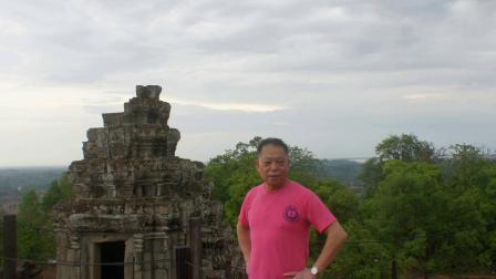 柬埔寨之旅—巴肯山 巴戎庙 留下瞬间