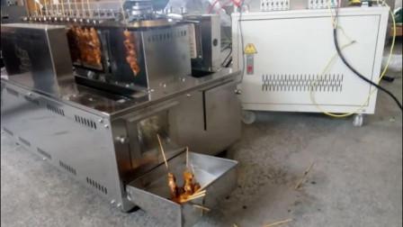Singapore Yakitori Machine自动无烟回转串烧炉