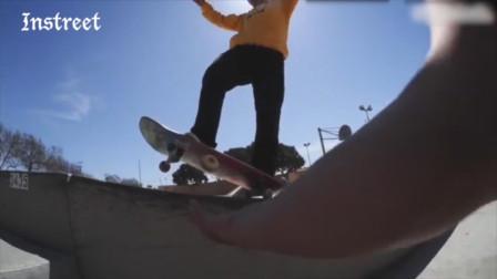 正在滑板,轮子却掉了,是种什么体验?