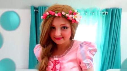 国外时尚美妆:女孩美妆打扮的公主妆容,你们是不是想说好漂亮呀
