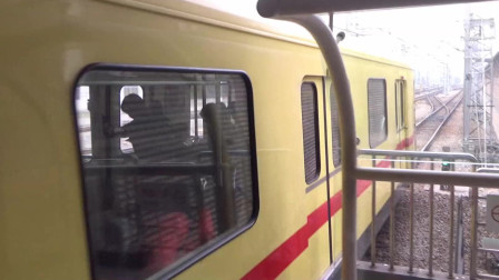 广州地铁1号线 A1 大西 1A37 38 西塱出站