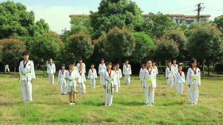 【龙凤艺术】邵东龙凤艺术培训学校跆拳道训练展示1