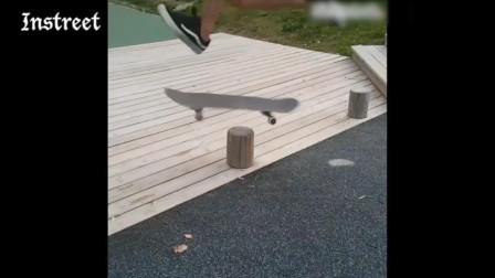 """我的天呐,这个滑板动作就是传说中的""""电风扇""""吗?"""