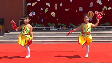 六一儿童节演出《开门红》