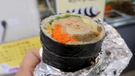 寿司怎么卷才不会散?这种寿司新手也会做,让你在家里吃到撑!