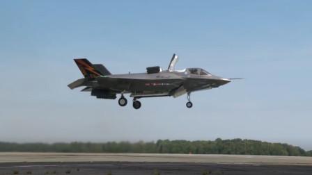 第一次完成垂直起降的F-35B,到现在都是一次突破