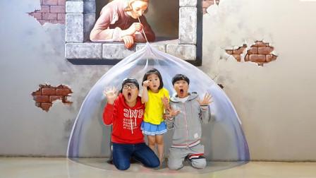 宝蓝儿童亲子萌宝乐园!和小哥哥一起去儿童博物馆!