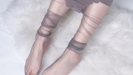 穿上这款超薄无痕丝袜,你也可以这样美!
