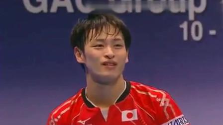 张继科发球后板板暴攻,日本队主力:这球没法打了!