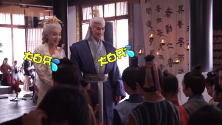 """《白发》幕后花絮,张雪迎李治廷""""乐忧""""白头偕老撒糖到老,好甜呀!"""