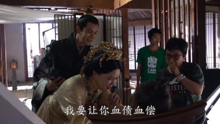 """《白发王妃》幕后花絮:大将军""""父慈母爱"""",经超笑场,这氛围秒破啊!"""