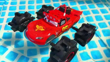 迪斯尼汽车玩具闪电雷奥麦昆卡洛斯杂耍科克斯