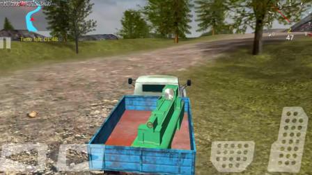 越野卡车交付驾驶模拟器游戏