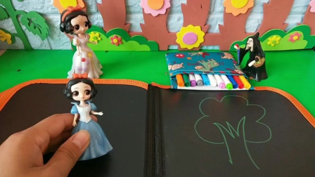 小雪儿想学画画,她能得到画册吗?