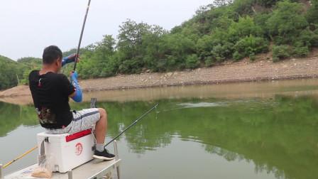 水库钓鱼第一天,碰上这个鱼情,自制玉米窝料钓饵发挥奇效