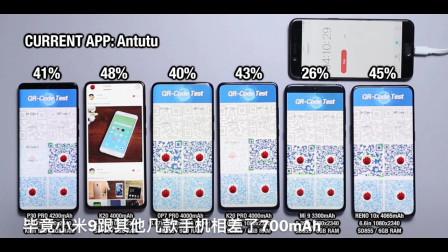 华为P30 Pro , 一加7 Pro, 红米k20 Pro 等6款手机续航能力大比拼