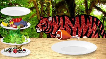 动物园野生动物匹配游戏益智学习动物的名字和声音儿童教育视频