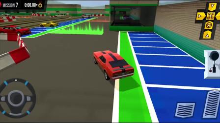 多层停车场5机场,汽车游戏