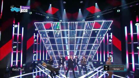 EXO舞蹈歌曲Tempo八人同台