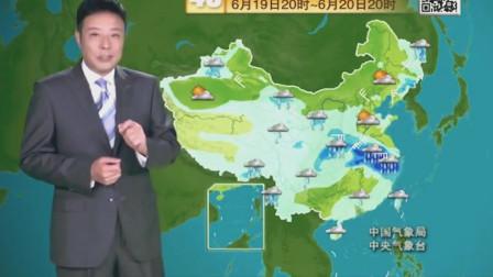 中央气象台:未来六天(18-23号)天气预报,雨水不断敬请收看!