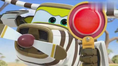 超级飞侠乐迪动物们的问题交给卡文就好红绿灯的游戏就解决了