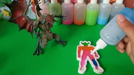 快来和奥特曼一起拯救怪兽吧!