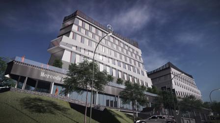 【小隐建筑】奔驰西藏·全球客户服务中心