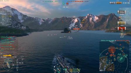 【战舰世界】有史以来用的最好的水听+日常暴毙