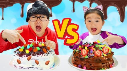 宝蓝儿童亲子萌宝乐园!和哥哥一起做的铁板冰淇淋!