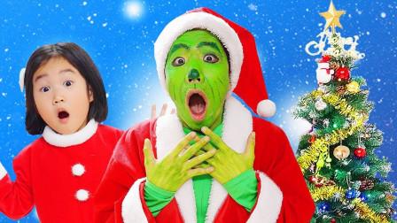 宝蓝儿童亲子萌宝乐园!和萌宝一起体验不一样的圣诞开幕式!