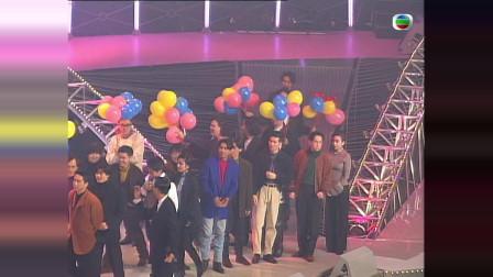 1991年群星合唱《光辉信念》,这阵容足以撑起娱乐圈半壁江山!