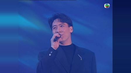 1991年黎明边唱《今夜你会不会来》,边走到台下与观众亲切握手!