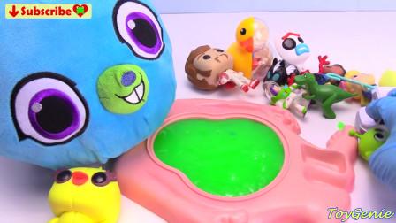 玩具总动员4小兔子玩多哈粘液腹部惊喜