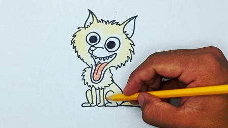 自民党如何画狐狸画容易画的孩子
