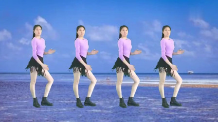 广场舞《狂浪》网红热门舞步,附讲解教学,好看更好学!