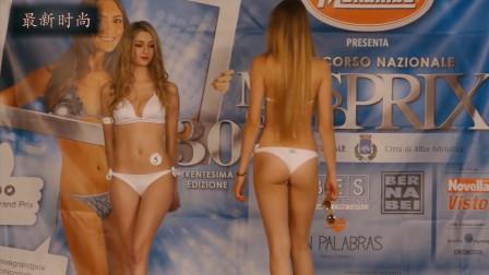 旧金山世界小姐选美大赛,高挑靓丽气质好,让人惊艳