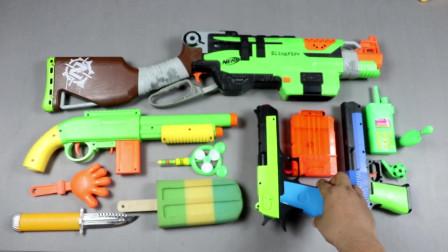 多色彩玩具泡沫冰淇淋步话机五手指玩具手盒玩具充满枪