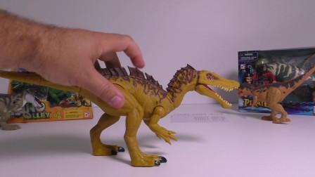 新玩具恐龙恐龙恐龙木偶鲨鱼似鳄龙的对手双脊龙的雷克斯