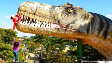 宝蓝儿童亲子萌宝乐园!带着哥哥一起去恐龙博物馆!