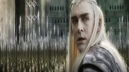 高贵的精灵族不允许自己站在矮人身后