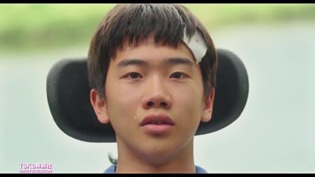 男主全身瘫痪却依然照顾3岁智力的弟弟,堪称第二部阿甘正传!