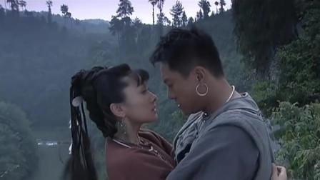 边城汉子:壮汉与寡妇不舍吻别,承诺会娶寡妇!
